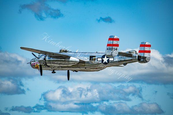 B-25 Bomber, International Airshow at Stewart Air Base, NY (Digital Download)