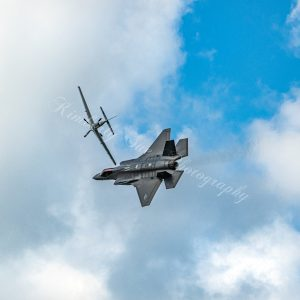 F-35 Strike Fighter & P-51 Mustang, International Air Show, Stewart Air Base, NY (Digital Download)