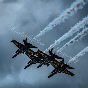 USN Blue Angels, F-18 Hornet Aerobatics Team, International Air Show at Stewart Air Base, NY (Digital Download)