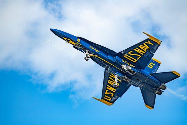 USN Blue Angels, F-18 Hornet Aerobatics Team, International Air Show at Stewart Air Base, NY