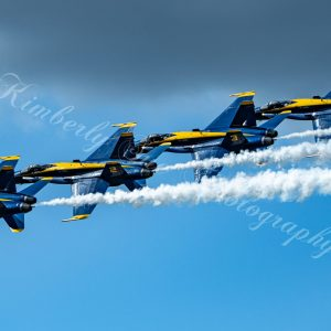 USN Blue Angels, F-18 Hornet Aerobatics Team, International Air Show at Stewart Air Base, NY