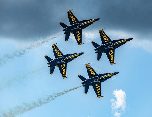 USN Blue Angels, F-18 Hornet Aerobatics Team, International Air Show at Stewart Air Base, NY (Digital Download)