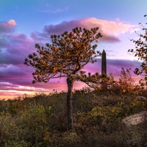 Sunset at High Point State Park, New Jersey