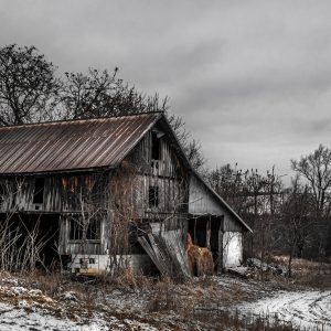 Old Rustic Barn Copper (Digital Download)