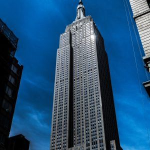 Empire State Building at Night, NYC