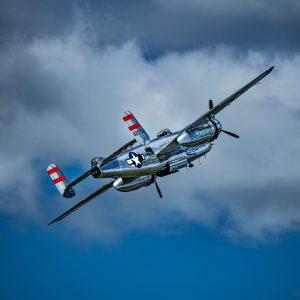 B-25 Bomber, International Airshow at Stewart Air Base, NY