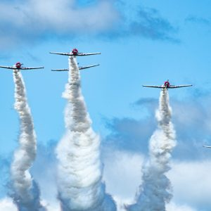 Geico Skytypers Air Show Team, International Air Show at Stewart Air Base