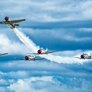 Geico Skytypers Air Show Team International Air Show at Stewart Air Base