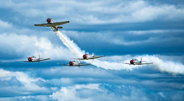 Geico Skytypers Air Show Team International Air Show at Stewart Air Base