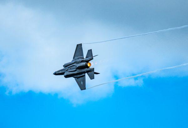 F-35 Strike Fighter International Air Show Stewart Air Base