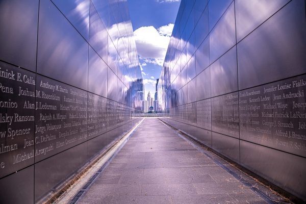 """9/11 """"Empty Sky Memorial"""" at Liberty State Park"""