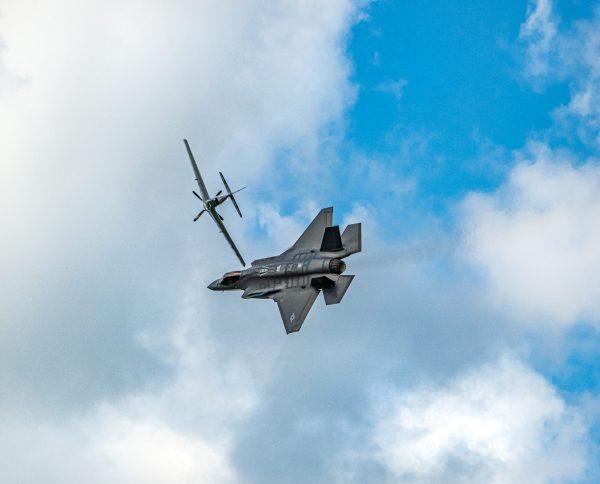 F-35 Strike Fighter & P-51 Mustang International Air Show Stewart Air Base