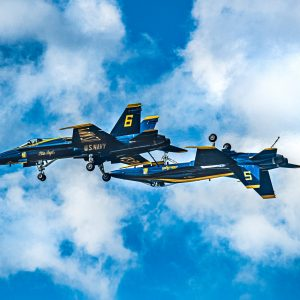 USN Blue Angels F-18 Hornet Aerobatics Team