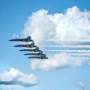 USN Blue Angels F-18 Hornet Aerobatics Team