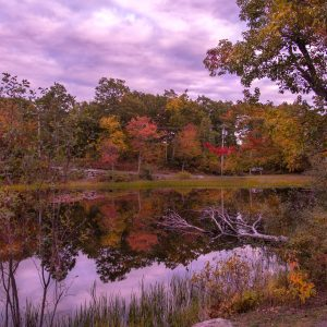 Fall Sunset at Highpoint State Park, NJ (Digital Download)