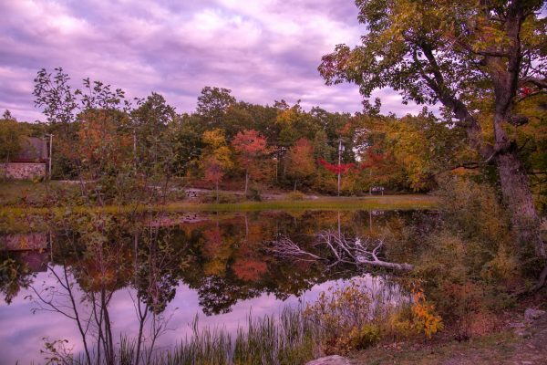 Fall Sunset at Highpoint State Park, NJ