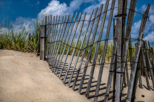Fence in the Dunes Ocean Grove, NJ