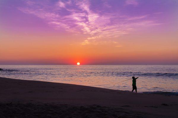 Sunrise at the Ocean Belmar Fishing Pier, NJ Shore
